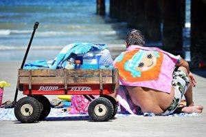 Strandbollerwagen
